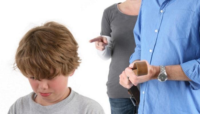 Жёсткое воспитание в семье