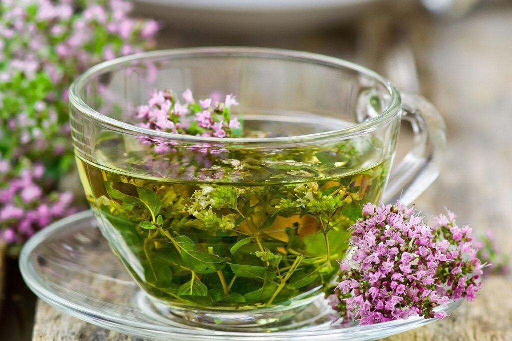 Фото чай и травы
