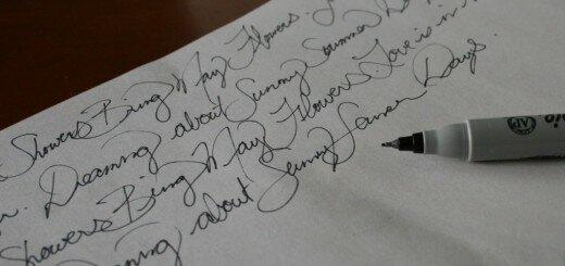 Почерк при шизофрении