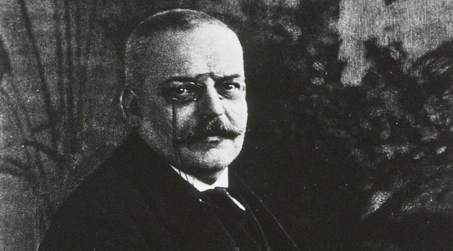 Немецкий психиатр Алоис Альцгеймер